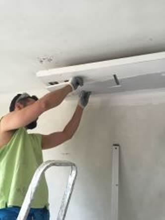 Melrose Mold dry wall repairs